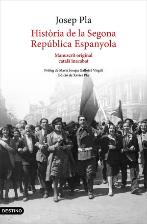 HIST.RIA DE LA SEGONA REPÚBLICA ESPANYOLA (1929-ABRIL 1933)